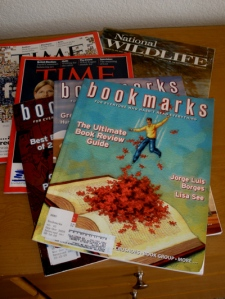 Library magazines