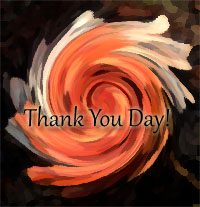 National Thank You Day rose