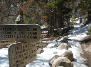Fern Lake Hike in Rocky Mountain National Park