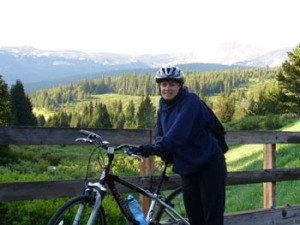 Biking at Copper Mountain