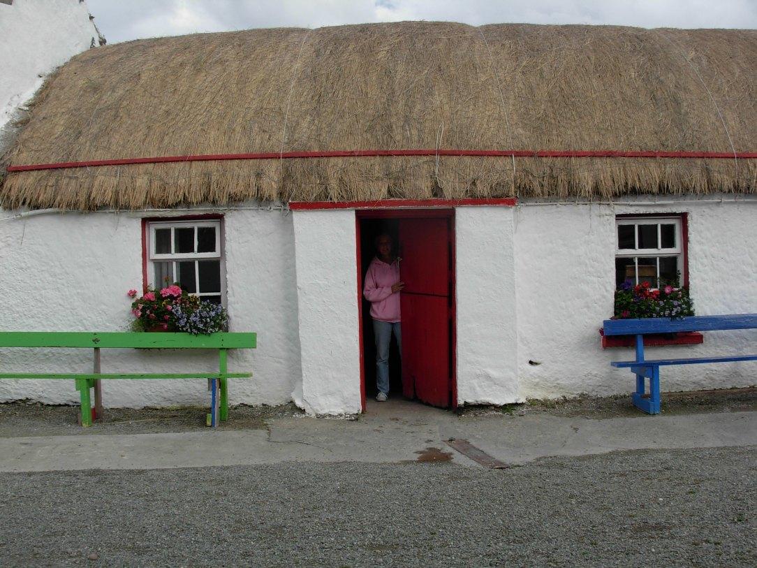 Thatch house in Ireland