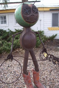 Folk art in Tinmath, Colorado