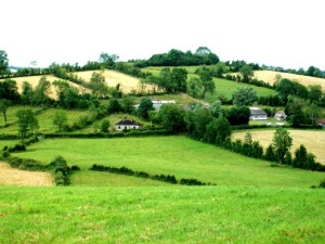 Ireland hillside, County Cavan - 2010