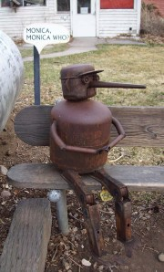 Folk art in Swetsville, Fort Collins, Colorado
