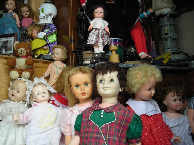 Dolls with eyes that blink in Mead, Colorado