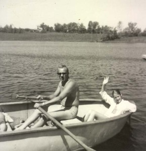 rowboat ride with your dad