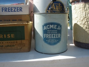 Acme ice cream maker