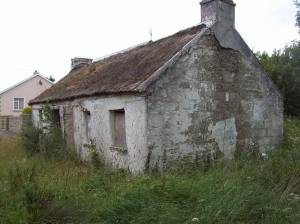 Old cottage in Ireland