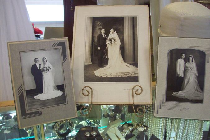 photos of brides and grooms from long ago