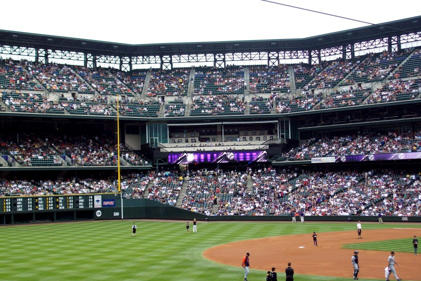 Colorado Rockies baseball field