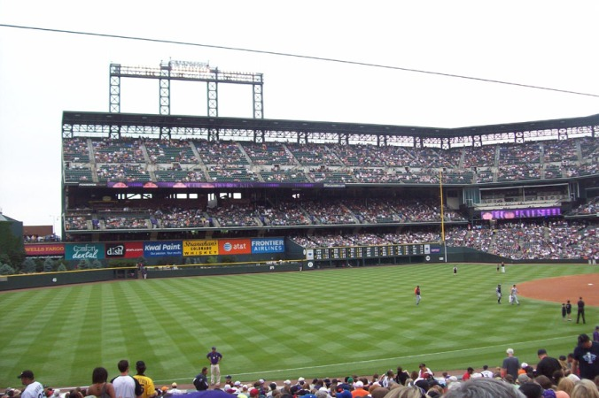 Colorado Rockies baseball field