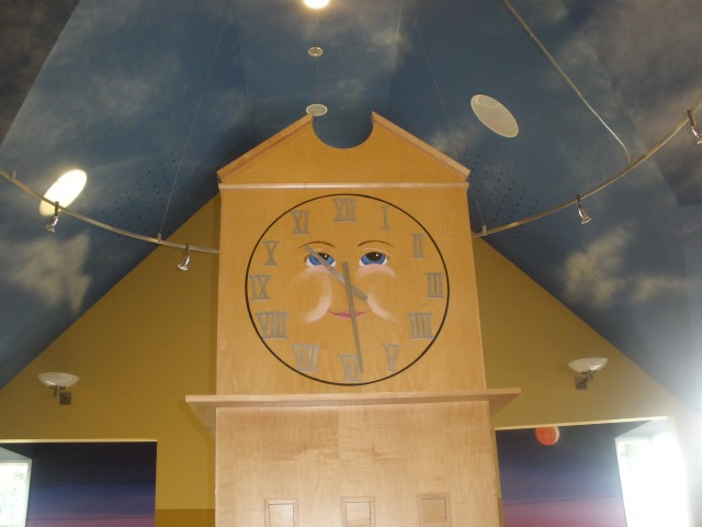 Face of a clock