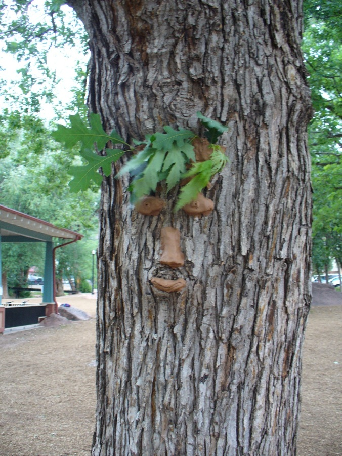 art in trees