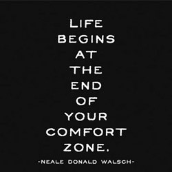 End of your comfort zone