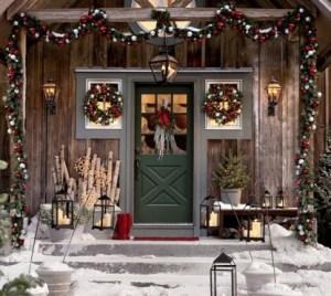 Christmas eve house