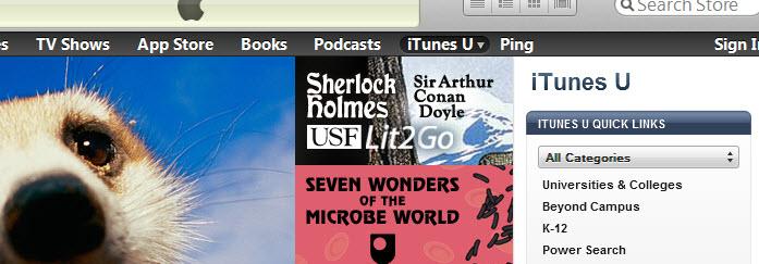 iTunes u link