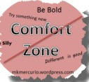 No Comfort Zone 2012 Weekly Challenge badge