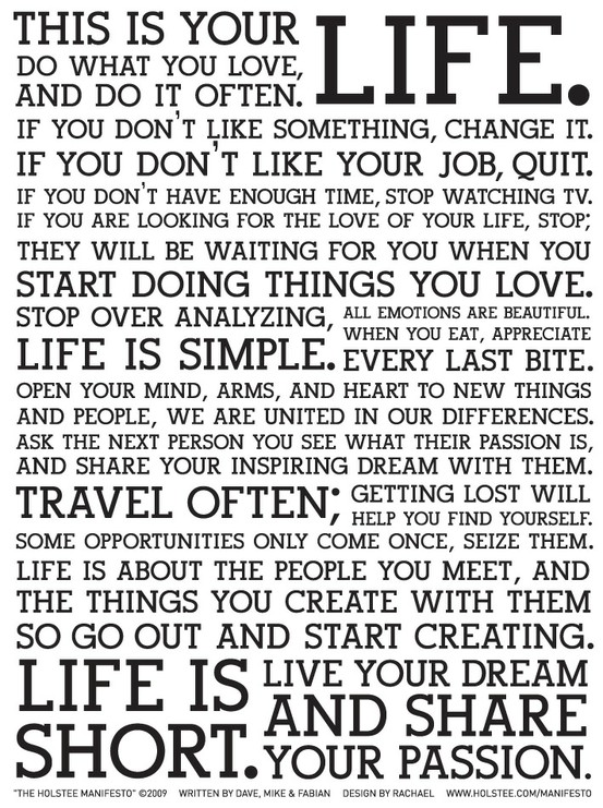 This is your life