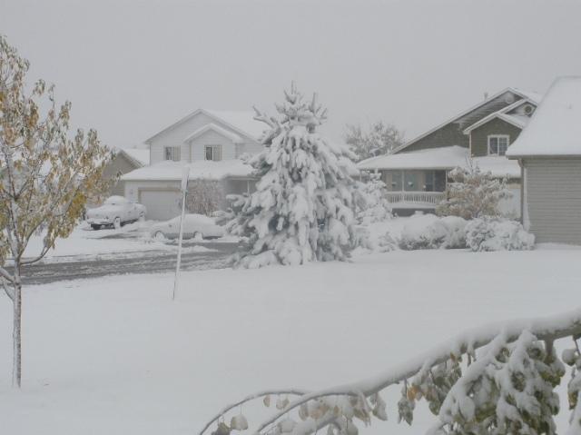 Colorado snow in Oct