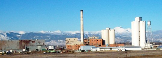Great Western Sugar Beet plant, Longmont, CO