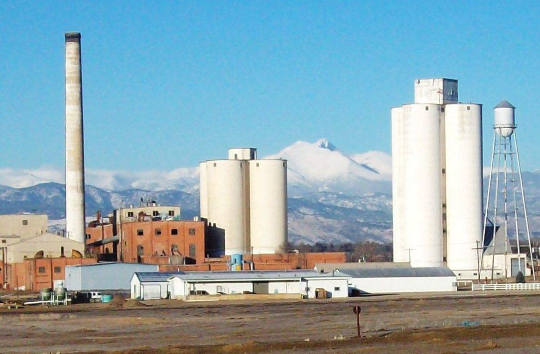 Great Western Sugar Beet plant, Longmont, CO