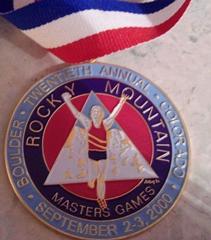 rocky mountain race walking 2000 medal