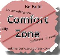 no comfort zone badge