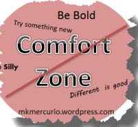 no comfort zone badge