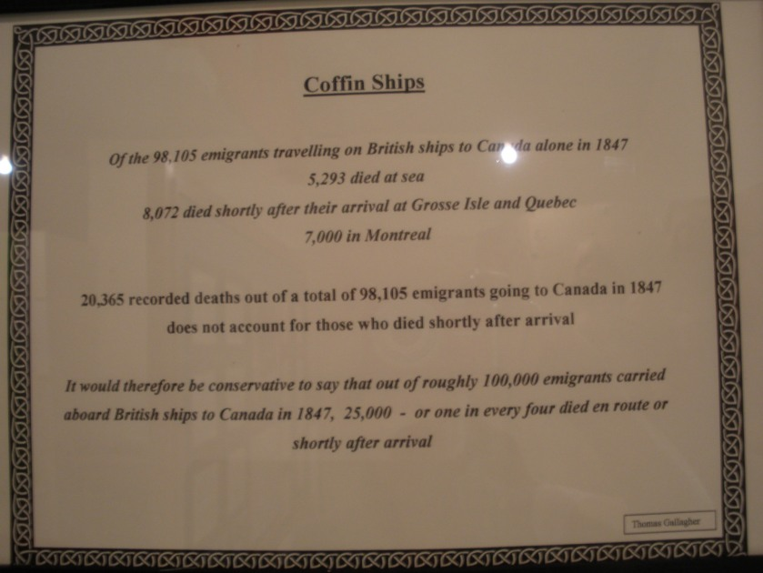 Irish Coffin Ships