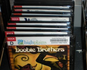 Doobie Brothers cd at the library