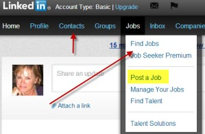 Find a job using LinkedIn.com