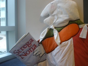 Strega Nona at library