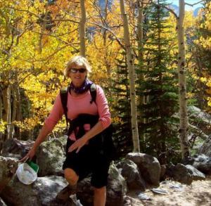 marge hiking
