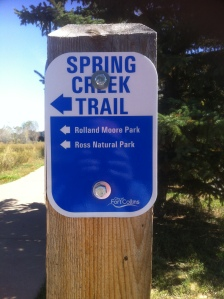 Spring Creek Trail in Fort Collins