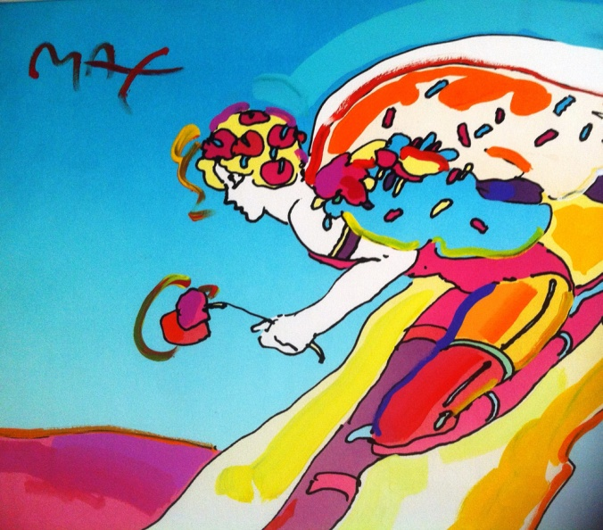 Descending Angel - Peter Max