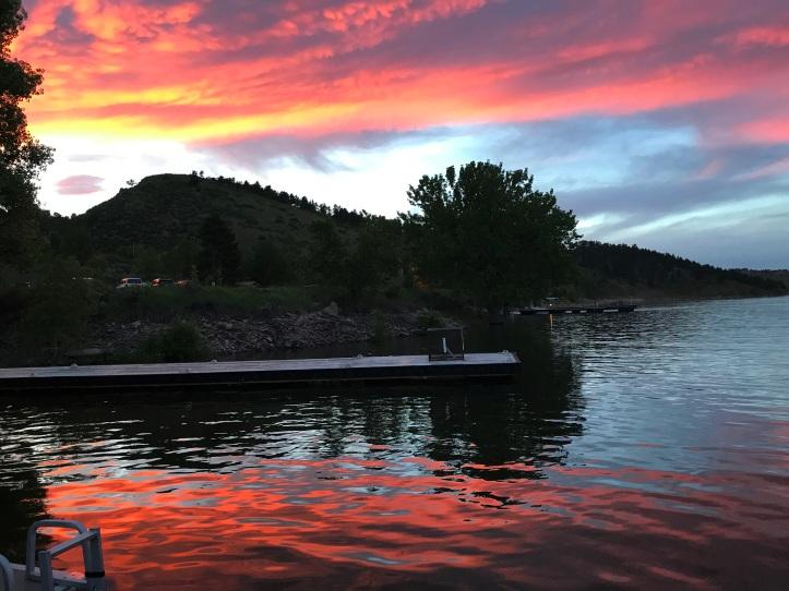 Horsetooth Reservoir, Fort Collins, CO