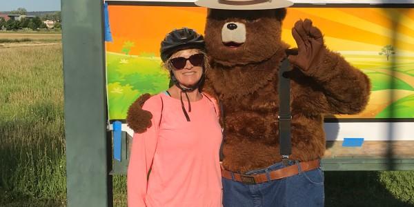 Smoky Bear and me