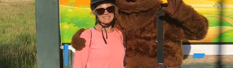 Smoky Bear and me