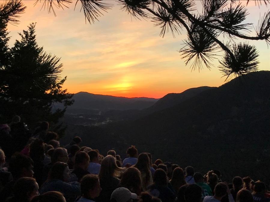 RYLA sunrise hike